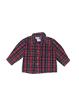 Goodlad Long Sleeve Button-Down Shirt Size 6-9 mo
