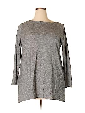 Purejill Long Sleeve Top Size 1X (Plus)
