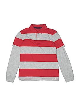 Gap Kids Long Sleeve Polo Size 10 - 11
