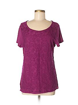 Ann Taylor LOFT Outlet Short Sleeve Top Size M