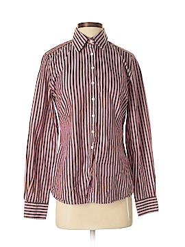 Charles Tyrwhitt Long Sleeve Button-Down Shirt Size 8