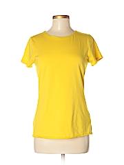 Lands' End Women Short Sleeve T-Shirt Size S