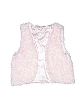 H&M Faux Fur Vest Size 13 - 14