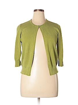 INC International Concepts Silk Cardigan Size XL