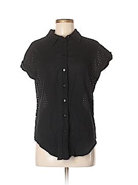Rebecca Minkoff Short Sleeve Button-Down Shirt Size 6