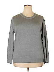 City Chic Women Pullover Sweater Size 22 Plus (L) (Plus)