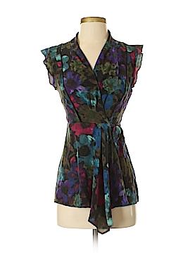 Fei Short Sleeve Silk Top Size 0