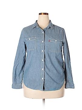 Levi's Long Sleeve Button-Down Shirt Size XL