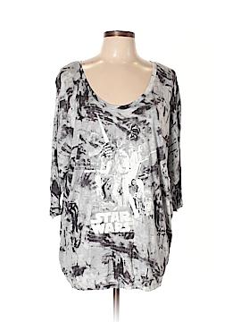 Rock & Republic 3/4 Sleeve T-Shirt Size 0X (Plus)