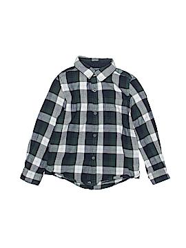 Zara Baby Long Sleeve Button-Down Shirt Size 3 - 4
