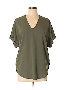 Paper Crane Short Sleeve Blouse Size L