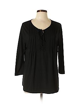 Kim Rogers 3/4 Sleeve Top Size L (Petite)