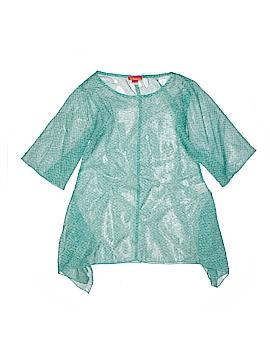 Kate Mack Short Sleeve Blouse Size 7