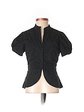 BCBGMAXAZRIA Short Sleeve Button-Down Shirt Size S