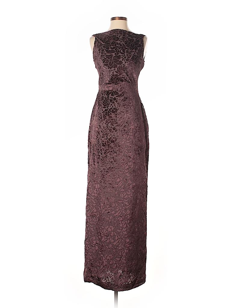 Vera Wang Print Brown Cocktail Dress Size 4 - 71% off | thredUP