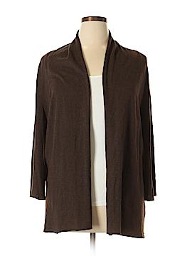 J.jill Silk Cardigan Size XL