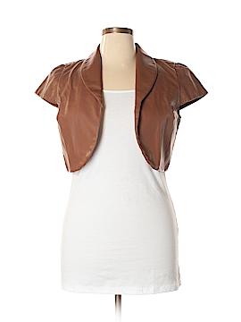 Neu Look Faux Leather Jacket Size XL