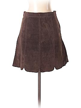 Zara Basic Leather Skirt Size S