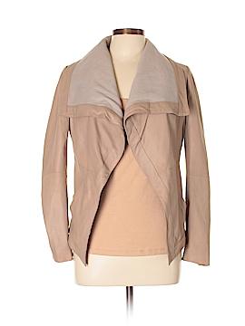 Elie Tahari Leather Jacket Size 12