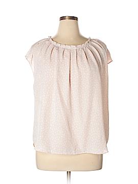 LC Lauren Conrad Short Sleeve Blouse Size XXL
