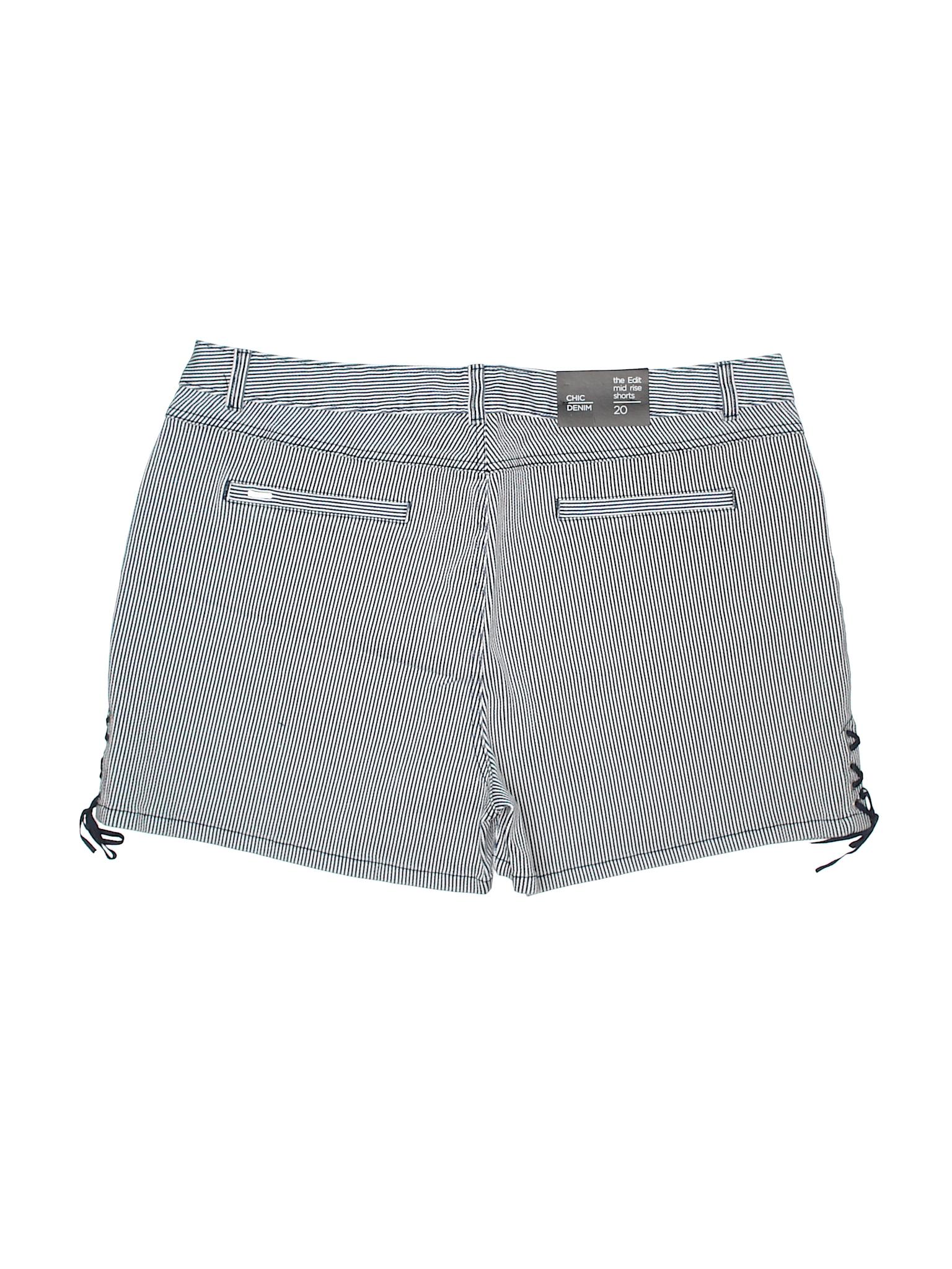 Boutique Denim Chic leisure Denim Shorts pwpOUqRXr
