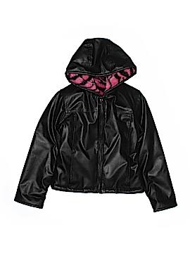 Copper Key Faux Leather Jacket Size 6 - 6X