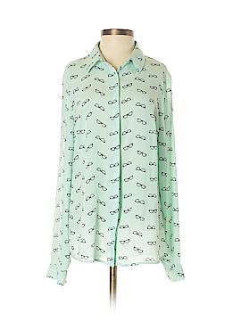 Metaphor Long Sleeve Blouse Size S