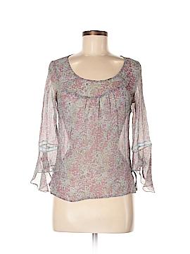 Odille Long Sleeve Silk Top Size 8