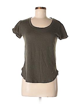 Violeta by Mango Short Sleeve T-Shirt Size XS