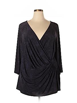 Lane Bryant 3/4 Sleeve Blouse Size 26 (Plus)