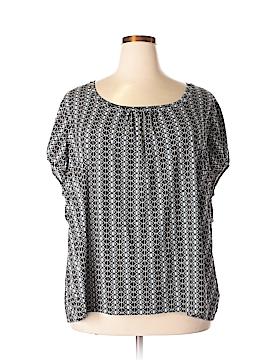 Worthington Short Sleeve Blouse Size 5X (Plus)