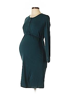 Petit Bateau Casual Dress Size L (Maternity)