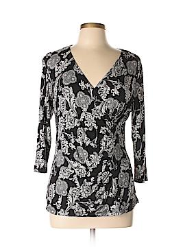 Dana Buchman 3/4 Sleeve Top Size L