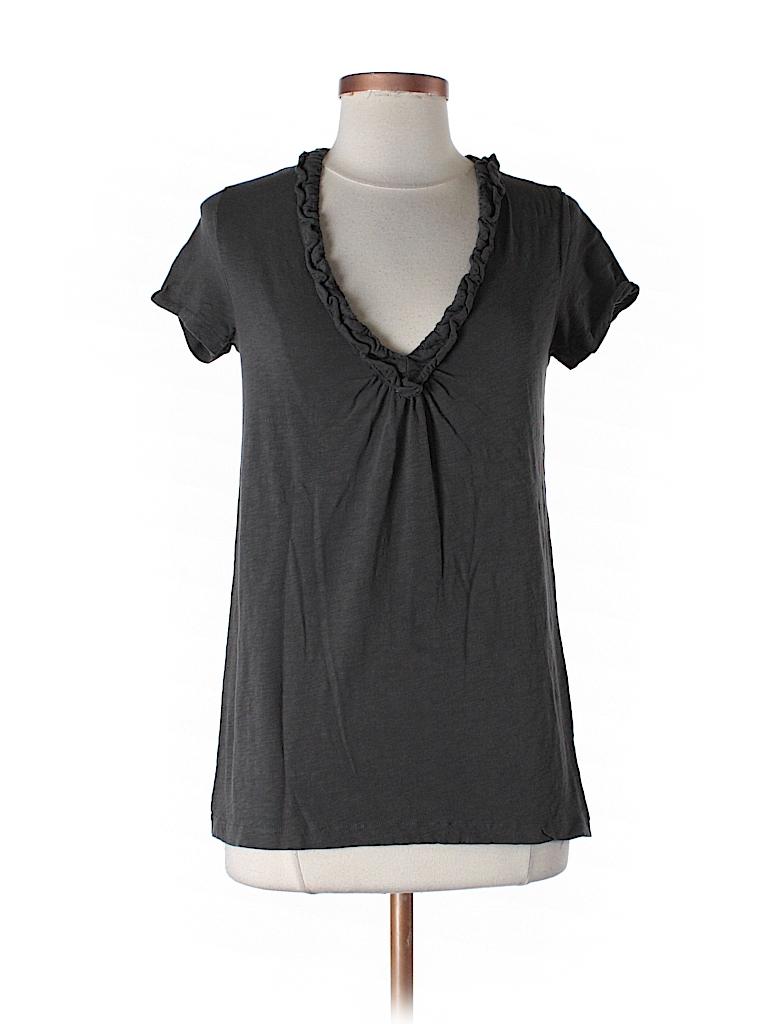 J. Crew Women Short Sleeve Blouse Size XS