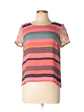 Corilynn Short Sleeve Silk Top Size 10