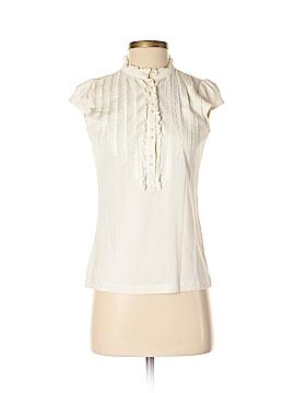 Emanuel by Emanuel Ungaro Short Sleeve Silk Top Size S