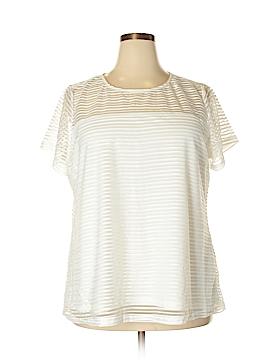 City Chic Short Sleeve Blouse Size 20 (Plus)