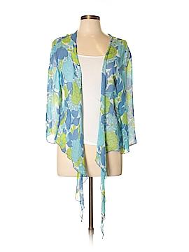Soft Surroundings Long Sleeve Silk Top Size L