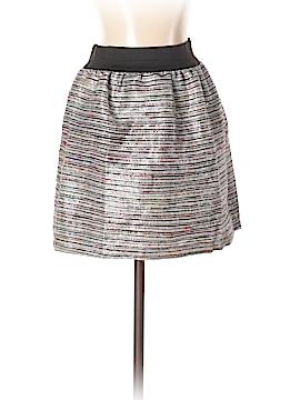 Aqua Silk Skirt Size XS