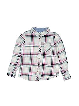 H&M L.O.G.G. Long Sleeve Button-Down Shirt Size 2 - 3