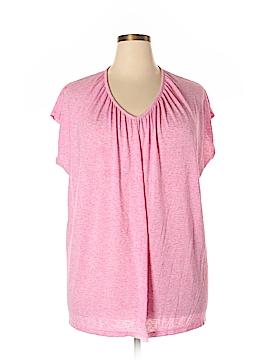Sejour Short Sleeve Top Size 1X (Plus)