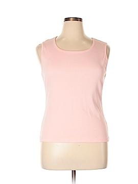 Moda International Sleeveless T-Shirt Size XL