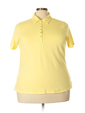St. John's Bay Short Sleeve Polo Size 2X (Plus)