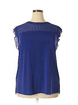 Worthington Short Sleeve Top Size 2X (Plus)