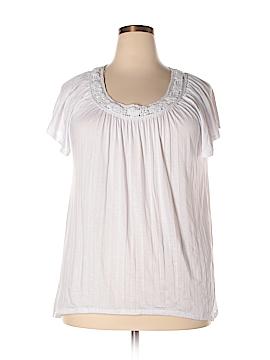 Carolyn Taylor Short Sleeve Top Size XL