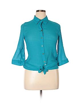 A. Byer Long Sleeve Button-Down Shirt Size XL
