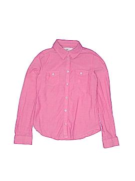 H&M Long Sleeve Button-Down Shirt Size 7 - 8