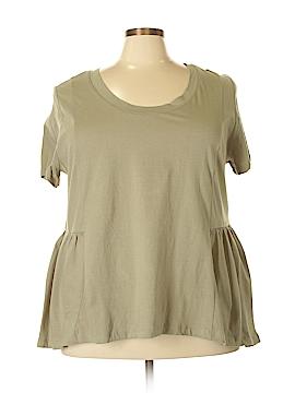 American Rag Cie Short Sleeve Top Size 3X (Plus)