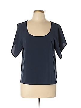 Frenchi Short Sleeve Blouse Size S