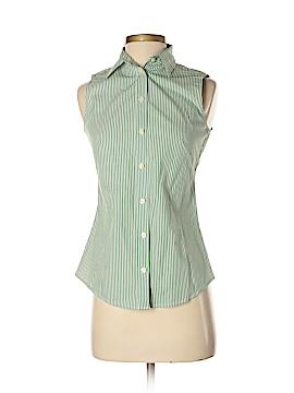 Banana Republic Sleeveless Button-Down Shirt Size 0